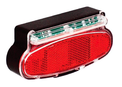 Büchel 50122066 - Luce a LED posteriore Route 66, colore: Nero