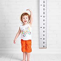Kids Height Growth Chart Hanging Ruler, Measures from 0.2ft to 6.5ft