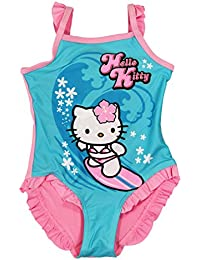 Hello Kitty Official Girls Swimsuit Age 2/9 Years