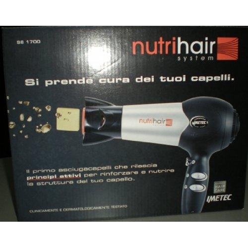Imetec 1508S Asciugacapelli S8-1700 Nutri Hair System