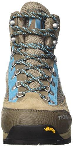 Desconocido Makalu Iii Gtx ョ Ws, Zapatos De Mujer Multicolores Para Caminar (gris Cálido / Azul)