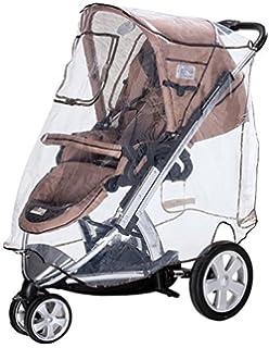 Playshoes Universal Regenverdeck f/ür Buggy one size mit Klettverschluss und Gummizug Kinderwagen Regenhaube transparent