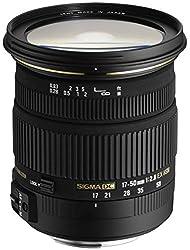 Sigma 17-50 mm F2,8 EX DC OS HSM-Objektiv (77 mm Filtergewinde, für Nikon Objektivbajonett)