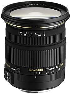 Sigma 17-50mm F/2.8 EX DC OS HSM Zoom Lens for Nikon DSLR Camera