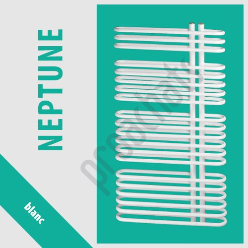RADIATEUR SALLE DE BAINS sèche- serviettes NEPTUNE blanc N-16/60 940x600