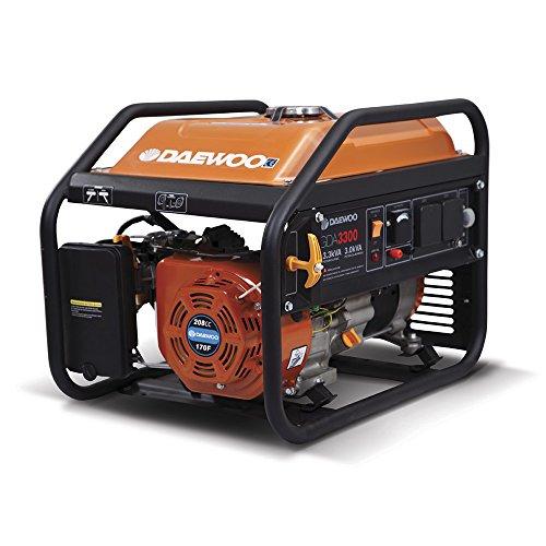 Daewoo GDA3300 - Generador eléctrico a gasolina...