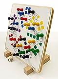 Wer ärgert sich (Magnet - Brettspiel für 6 Personen) 50 x 50 cm