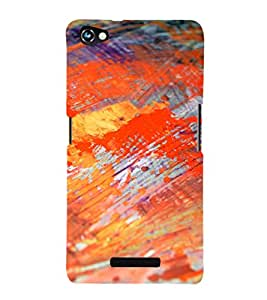 EPICCASE fiery painting Mobile Back Case Cover For Micromax Canvas Hue 2 A316 (Designer Case)