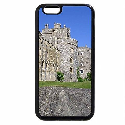 iPhone 3S/iPhone 6Coque (Noir) extérieur Château de Windsor