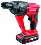 Einhell 4513810 18 LI TE-HD Cordless Rotary Hammer Kit with 18 V 1.5 A Li-Ion Battery - Red by Einhell