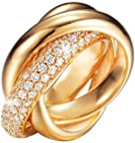 Esprit Women Silver Zircon Rings