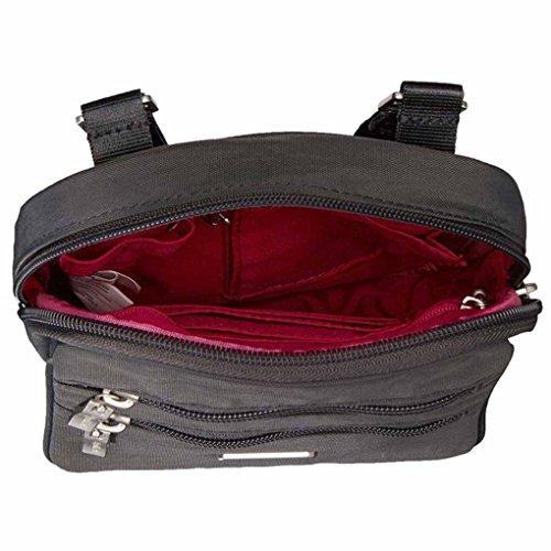 Baggallini Viaggio Viaggio Tracolla Organizer Bag Charcoal