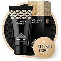 Ampliación Extender Crema de masaje, Titan Gel mejorada Oro masculinos Pene jelq übung 60g