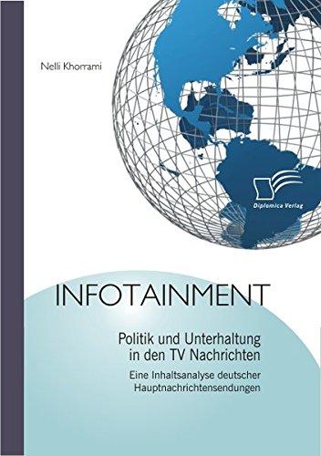 Infotainment: Politik und Unterhaltung in den TV Nachrichten: Eine Inhaltsanalyse deutscher Hauptnachrichtensendungen
