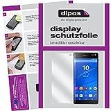 dipos I 6X Schutzfolie klar passend für Sony Xperia C5 Ultra Folie Bildschirmschutzfolie
