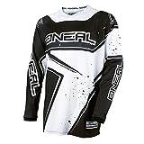 O'Neal Element Racewear Youth Kinder Jersey Weiß Schwarz MX MTB