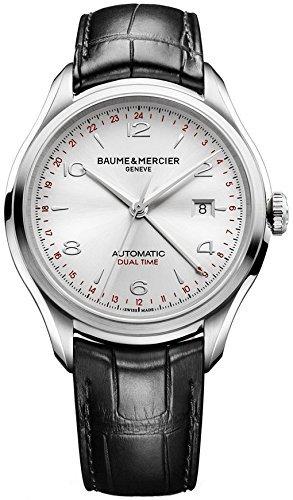 Nuevo Mens Baume y Mercier Clifton Plata Dial Automático Reloj 10112por Baume & Mercier