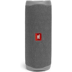 JBL Flip 5 Enceinte Bluetooth Portable avec Batterie Rechargeable, Étanche, Compatible Siri et Google, Gris