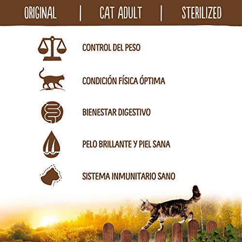 True Instinct Original Cat Adult Sterilized con Salmón