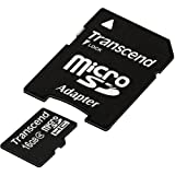 Transcend Ts16gusdhc4 16 Gb Microsd High Capacity  Microsdhc  . Class 4 . 1 Card  Product Type: Memory/Memory Cards  available at Amazon for Rs.6693