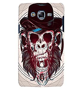 Citydreamz Monkey Face/Abstract Hard Polycarbonate Designer Back Case Cover For Samsung Galaxy On7