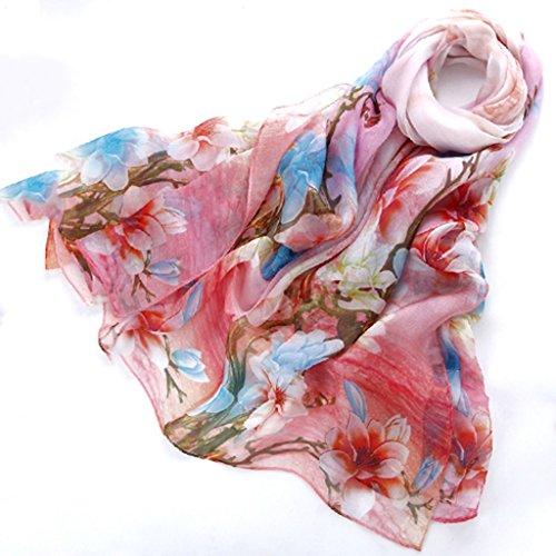 serviette de plage Version coréenne de l'écharpe en soie écharpe longue écharpe sauvage châle ( Couleur : #3 ) #7