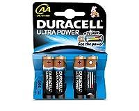 Duracell Ultra MX1500 Alkaline AA Batteries - 4-Pack