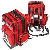 Notfallrucksack ratiomed groß, rot,leer