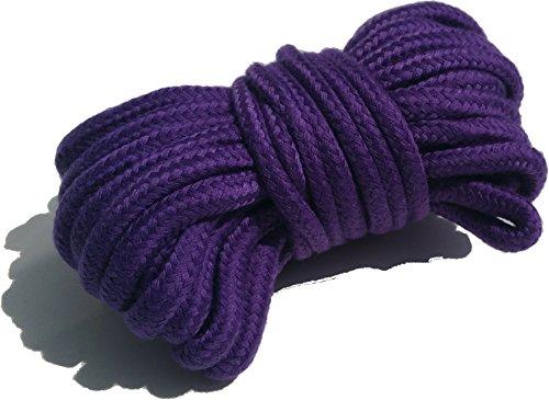Violett weiche Seil 10Meter Mehrzweck-waschbar von cufz (Quicksilver Kostüme)