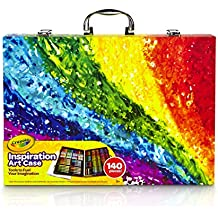 Crayola Inspiration art case (150+pcs.) - kits de manualidades para niños (Lápiz de color, Lápiz, Rotulador, Niño/niña, Multicolor)
