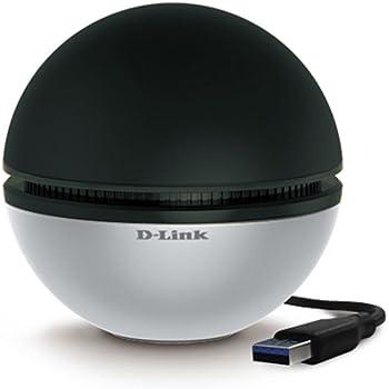 D-Link DWA-192 Adattatore USB AC1900 Ultra, Nero/Antracite