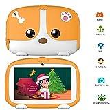 LNLJ Tablette Tactile HD 7 Pouces pour Tablette Mini Kids avec Double caméra, contrôle Parental, 1G + 8G pour l'apprentissage et Les Jeux des Enfants,Orange