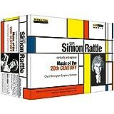 Sir Simon Rattle dirigiert und erkundet Musik des 20. Jahrhunderts [5 DVDs]