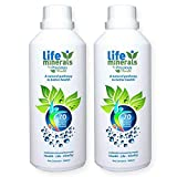 Life Minerals 500ml, 70+ Colloidal Mineral Formula, Superior Fast Absorbing Liquid Concentrate, a Natural Plant Derived Fulvic Acid & Trace Minerals Supplement