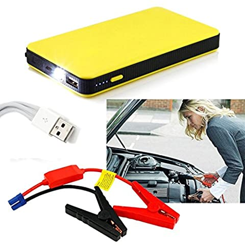 Rawdah Car Jump Starter Chargeur de batterie Power Bank Booster 12V 20000mAh Multi-Function (20000mAh)