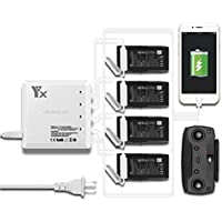 Anbee 6-in-1 Parallel Charging Multi Battery Charger for DJI Mavic Air Drone - Compare prices on radiocontrollers.eu