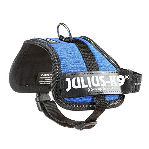 JULIUS-K9, 162B-BB2, K9-Powergeschirr, Größe: Baby 2, Blau - 3