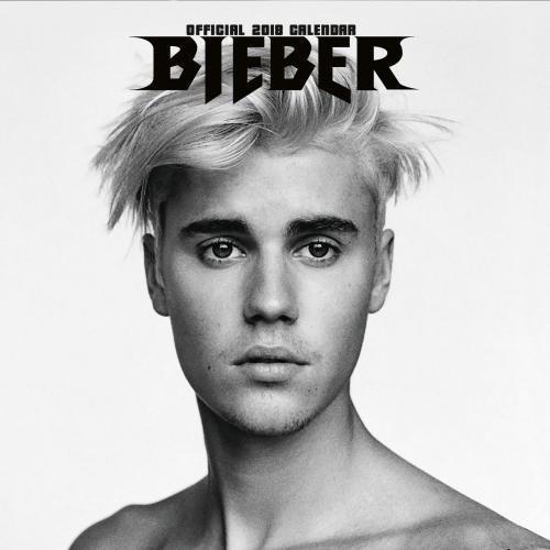 Justin Bieber Official 2018 Calendar - Square Wall Format