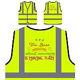 Lo Mejor De Los Recuerdos Es Hacerlos Chaqueta de seguridad amarillo personalizado de alta visibilidad s295v
