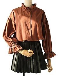 d8c7ffb23d Amazon.it: maglia rossa donna - JOTHIN / Bluse e camicie / T-shirt ...