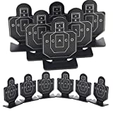 6 PCS Training Shooting Targets Metall Schießen Ziel Soldat Dekoration Outdoor Metall Airsoft Taktische Jagd Schießen Ziel Set Durable Bogenschießen Kit Ziel Praxis Zubehör