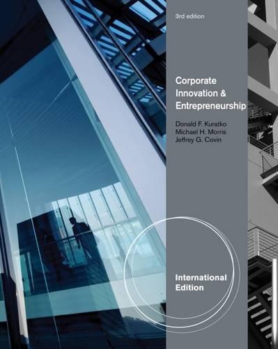 Corporate Innovation & Entrepreneurship, International Edition: Entrepreneurial Development Within Organizations