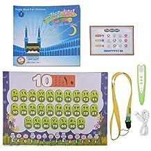 Moslim educatief speelgoed, Islamitisch Engels Arabisch Verlichting Boeken Hangend Schilderen Leerpunt Leespen Vroege onderwijsmachine Touch Talking Pen Machine