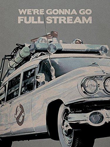 "Ghostbusters Poster 60 x 80 cm Stampa su tela ""Ectomobile cm"