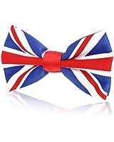 Mens Bow Tie Pre-Tied Union Jack