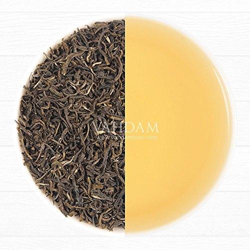 2017er Ernte, Exotischer Assam Grüner Tee, 1 100% Reiner Unverschnittener Schwarzer Tee, Loose Leaf (Lose Blätter) Tee, Direkt aus der Assam Region, (100 Tassen), 255gm Exotischer Grüner Tee