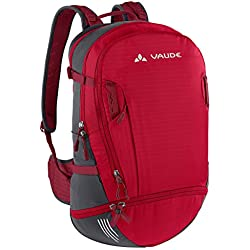 VAUDE Bike Alpin 30+5 Mochila, Unisex Adulto, Rojo (Indian Red/Salsa), 30-39 l