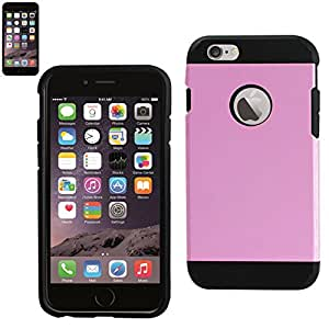 Reiko Dual Layer TPU/PC Cover for iPhone 6 4.7INCH, iPhone 6S 4.7inch -Retail Packaging-Pink