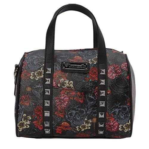 loungefly-damen-henkeltasche-mehrfarbig-schwarz