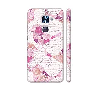 Colorpur LeEco Le 2 Cover - Patchwork Bird Pattern Printed Back Case